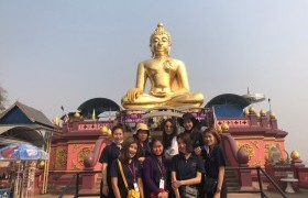 Image : Tourism and Hospitality program, RMUTL Lampang organized a simulated tour for learning in guide career