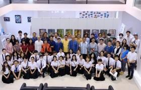 รูปภาพ : งานวิเทศสัมพันธ์เข้าร่วมพิธีเปิดนิทรรศการนักศึกษาแลกเปลี่ยน Guangxi Normal University (GXNU) สาธารณรัฐประชาชนจีน