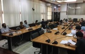 รูปภาพ : ประชุมเพื่อหารือการจัดทำข้อมูลนักศึกษาและบัณฑิตของหลักสูตร