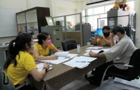 รูปภาพ : ศูนย์วัฒนธรรมศึกษา ประชุมเพื่อรวบรวมสรุปผลการดำเนินงาน ITA ด้านทำนุบำรุงศิลปะและวัฒนธรรม