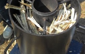 Image : Development of Biochar Stove from Agricultural Residue