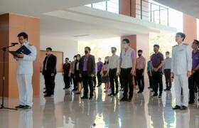 รูปภาพ : วิทยาลัยฯ จัดพิธีถวายพระพรชัยมงคลเนื่องในโอกาสวันเฉลิมพระชนมพรรษาสมเด็จพระนางเจ้าฯ พระบรมราชินี