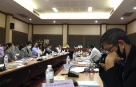 รูปภาพ : ผู้ช่วยอธิการบดี มทร.ล้านนา เชียงราย เข้าร่วมการประชุมคณะกรรมการบริหารงานจังหวัดแบบบูรณาการ จังหวัดเชียงราย (ก.บ.จ.ชร.) ครั้งที่ 2/2563