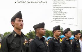 รูปภาพ : รับสมัครและรายงานตัวนักศึกษาวิชาทหาร มทร.ล้านนา ตาก