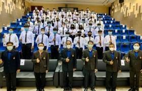 รูปภาพ : ขอแสดงความยินดีและขอต้อนรับนักศึกษาใหม่ทุกท่านเข้าสู่ หลักสูตรเครื่องจักรกลเกษตร