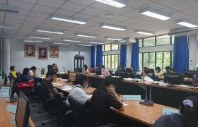 รูปภาพ : สภานักศึกษาประชุมสมัยสามัญ ปีการศึกษา 2563
