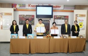 Image : RMUTL. associated with Krung Thai Bank Public Company Limited, signed a memorandum of agreement to develop the financial platform of the University Application services on smartphones.