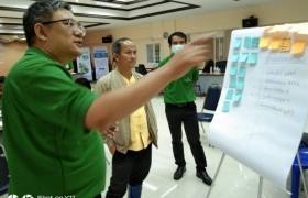 รูปภาพ : ผู้บริหารและคณาจารย์วิทยาลัยฯ เข้าร่วมโครงการประชุมเชิงปฏิบัติการการท่องเที่ยวโป่งแยง อ.แม่ริม จ.เชียงใหม่