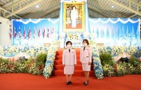 รูปภาพ : อธิการบดีร่วมพิธีถวายพระพรชัยงมงคลเนื่องในโอกาสวันเฉลิมพระชนมพรรษา สมเด็จพระนางเจ้าสิริกิติ์ พระบรมราชินีนาถ พระบรมราชชนนีพันปีหลวง