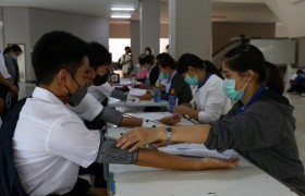 รูปภาพ : มทร.ล้านนา จัดโครงการตรวจสุขภาพ เตรียมความพร้อมด้านสุขภาพให้นักศึกษาใหม่ ประจำปี 2563