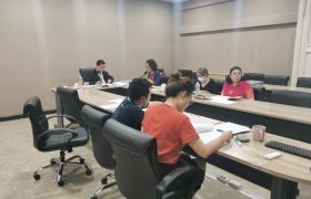 รูปภาพ : ประชุมคณะกรรมการตรวจสอบ และประเมินผลการดำเนินงานของมหาวิทยาลัย(ค.ต.ป.) ครั้งที่ 2(2/2563)