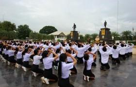 รูปภาพ : ราชมงคลบ้านกร่างร่วมใจ น้อมสักการะสิ่งศักดิ์สิทธิ์เมืองพิษณุโลก ประจำปีการศึกษา2563