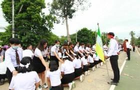 รูปภาพ : พิธีมอบรุ่นที่ 57  ให้กับนักศึกษาใหม่  ประจำปีการศึกษา 2563