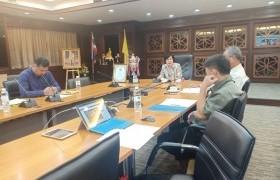 รูปภาพ : คณะกรรมการดำเนินโครงการจัดทำรถกระทงฯ มทร.ล้านนา ประชุมสรุปผลการดำเนินงานนิทรรศการกระทง พ.ศ.2563