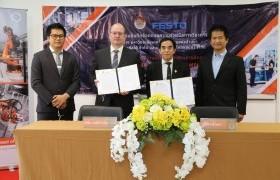 รูปภาพ : คณะวิศวะ มทร.ล้านนา จับมือบริษัท Festo และ บริษัท คูก้า ประเทศไทย เปิด Hub the Trainer สร้างศูนย์กลางความเป็นเลิศด้านด้านหุ่นยนต์เคลื่อนที่ ผลิตกำลังคนเข้าสู่ EEC
