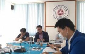 รูปภาพ : ผู้ช่วยอธิการบดี มทร.ล้านนา เข้าร่วมการประชุมคณะกรรมการสภาอุตสาหกรรมจังหวัดเชียงราย ประจำเดือนธันวาคม 2563
