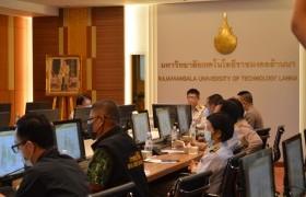 รูปภาพ : มหาวิทยาลัยฯ ให้การต้อนรับนายอำเภอและหัวหน้าส่วนราชการ ในโอกาสงานประชุมประจำเดือนส่วนราชการ อ.ดอยสะเก็ด