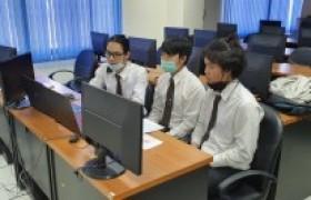 รูปภาพ : นักศึกษา หลักสูตรวิทยาการคอมพิวเตอร์ มทร.ล้านนา น่าน เข้าสู่รอบชนะเลิศการตัดสินการแข่งขันพัฒนาโปรแกรมคอมพิวเตอร์แห่งประเทศไทย NSC2021 ครั้งที่ 23