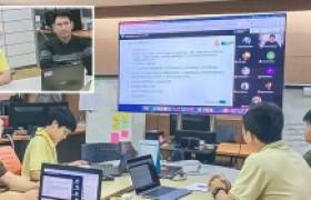 รูปภาพ : สวส. ร่วมกับ สวท. ประชุมฯ Google Meet ธ.กรุงไทย อัพเดทความคืบหน้า RMUTL U-App ตามข้อตกลงฯ Krungthai Digital Platform โครงการ RMUTL Smart University ๔.๐