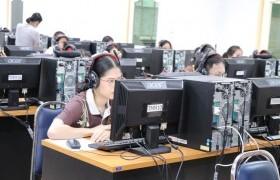 รูปภาพ : ศูนย์ภาษา มทร.ล้านนา เชียงราย จัดสอบทักษะด้านภาษาสำหรับนักศึกษาชั้นปีสุดท้าย ประจำปีการศึกษา  2563