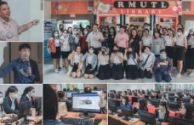 """รูปภาพ : นว.คอมฯ กลุ่มงานบริการการศึกษา บรรยายพิเศษ """" การใช้งานฯ MS Office นศ.การท่องเที่ยวและการบริการ """""""
