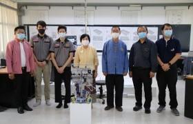 รูปภาพ : 2 นักศึกษา วิศวกรรมศาสตร์ มทร.ล้านนา ร่วมการแข่งขันรายการ Mobile Robotics Skills Challenge Thailand 2021