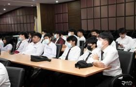 รูปภาพ : โครงการปฐมนิเทศนักศึกษาสหกิจศึกษา  ภาคฤดูร้อน/2563