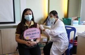 รูปภาพ : อาจารย์บุคลากร มทร.ล้านนา เชียงราย เข้ารับการฉีดวัคซีนป้องกัน Covid-19 ณ โรงพยาบาลพาน จังหวัดเชียงราย