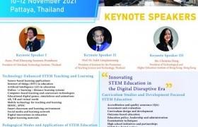 รูปภาพ : เชิญชวนเข้าร่วมประชุมและส่งบทคัดย่อ/บทความวิจัยฉบับสมบูรณ์ เพื่อนำเสนอในงานประชุมวิชาการระดับนานาชาติ : The 6th International STEM Education Conference (iSTEM-Ed2021)