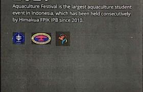 รูปภาพ : ประชาสัมพันธ์การจัดงาน Aquaculture Festival 2021