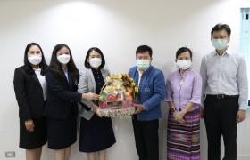 รูปภาพ : คณะผู้บริหาร มทร.ล้านนา เชียงราย เข้าเข้าแสดงความยินดีนายวิสูตร บัวชุม เข้ารับตำแหน่ง ผู้อำนวยการการท่องเที่ยวแห่งประเทศไทย(ททท.) สำนักงานเชียงราย